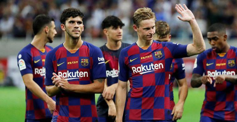 Valverde haalt bezem door basiself Barcelona en kiest voor Frenkie de Jong