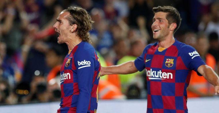 FC Barcelona en De Jong herstellen zich en boeken eerste overwinning