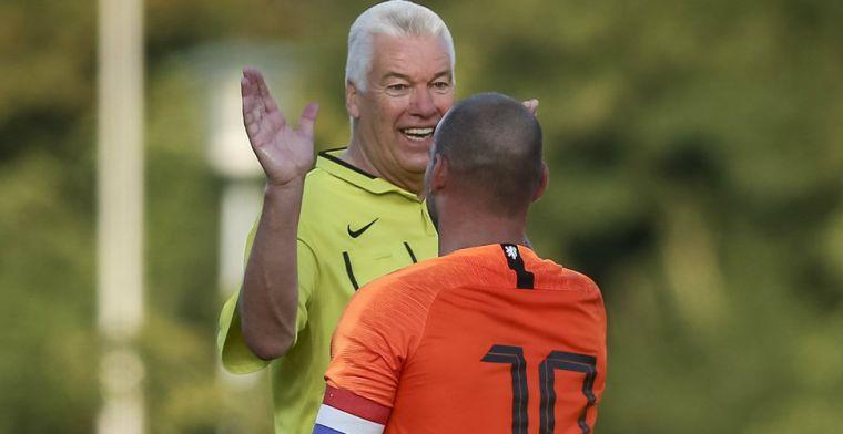 Sneijder-anekdote van Luinge: 'Ik zei: kabouter, nu moet je oppassen'