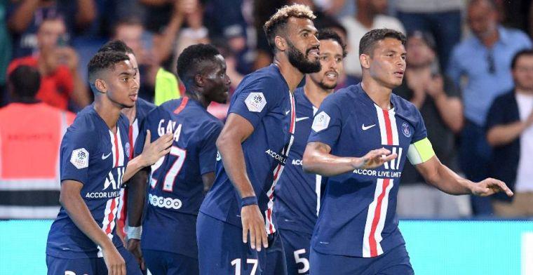 Ruime zege voor Paris Saint-Germain, remise bij Kluivert versus Schöne