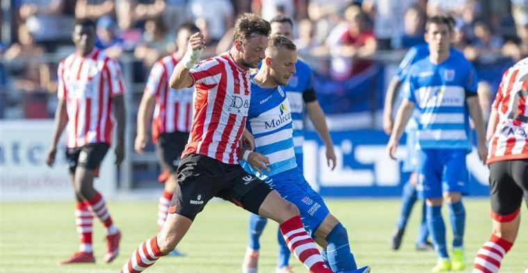Sparta speelt gelijk in Zwolle en laat unieke kans op koppositie schieten