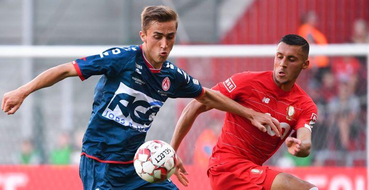 Standard pakt in extremis drie punten tegen Kortrijk na dom rood voor Lestienne