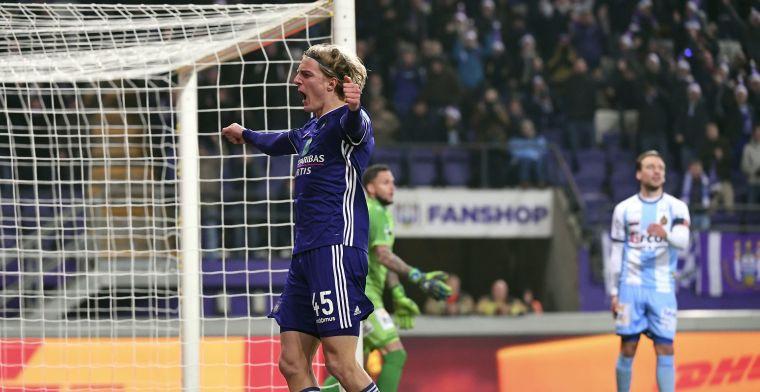 Bornauw over zijn transfer: Vreemd om te vertrekken bij Anderlecht