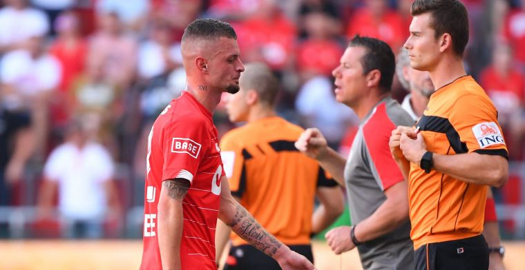 Lestienne krijgt rood na tussenkomst VAR en mist match tegen Anderlecht