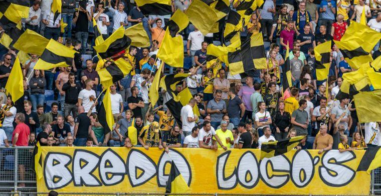 Ballenjongen maakt NAC-fans gek, gaat viral én krijgt berisping: 'Signaal afgeven'