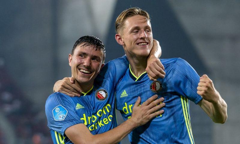 Afbeelding: Feyenoord overleeft openingsfase en zet Israëliërs eenvoudig opzij