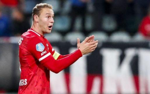 Afbeelding: AZ-aanvoerder na zege tegen Antwerp: 'Des te lekkerder dat je dan nog wint'