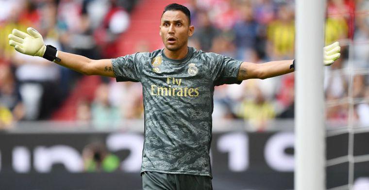 Update: 'Nieuwe reservedoelman van Real arriveert in Madrid voor keuring'