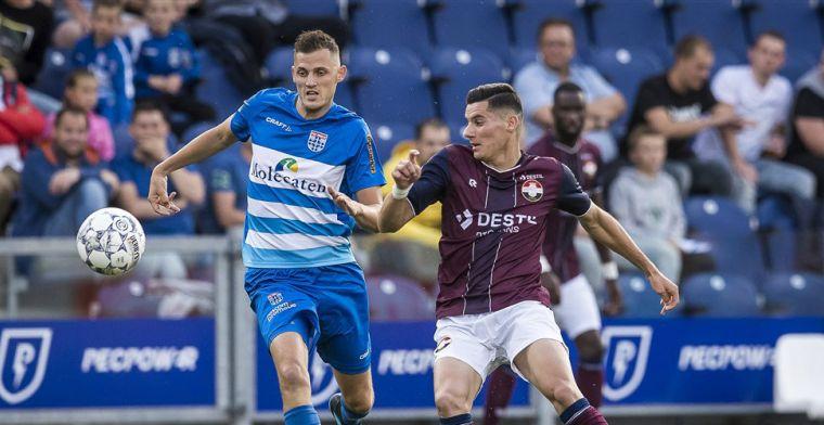 Update: PEC Zwolle bevestigt deal en verhuurt ook Leemans aan RKC Waalwijk
