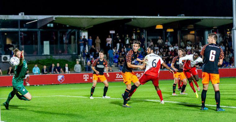 'Te oude' Unnerstall mag alsnog Jong PSV-debuut maken: 'Ik hoop ritme op te doen'