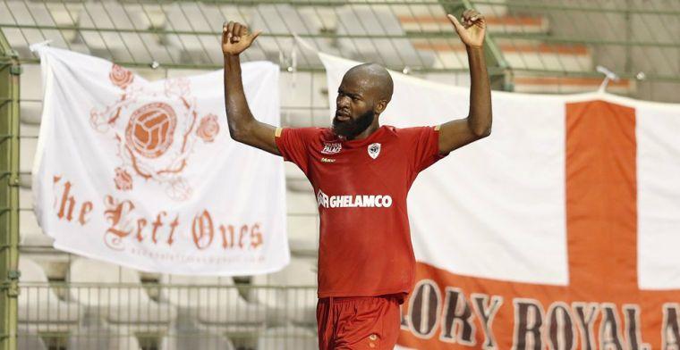 Antwerp-speler woest op 'rode' teamgenoten: 'Sorry, dit was heel dom'