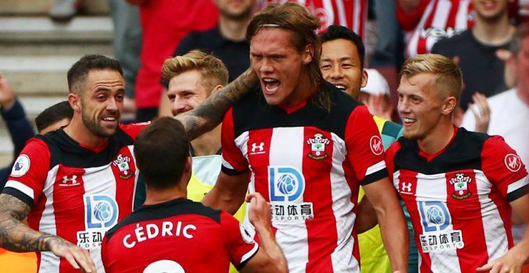 Manchester United krijgt tiental Southampton niet kwijt en verspeelt weer punten