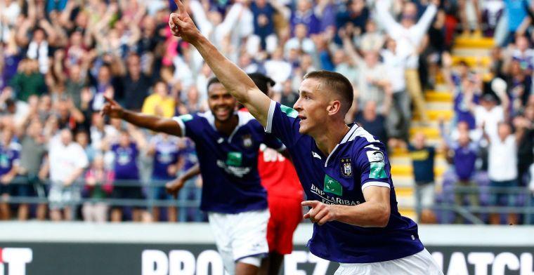Anderlecht pakt eerste driepunter na hardbevochten overwinning tegen Standard