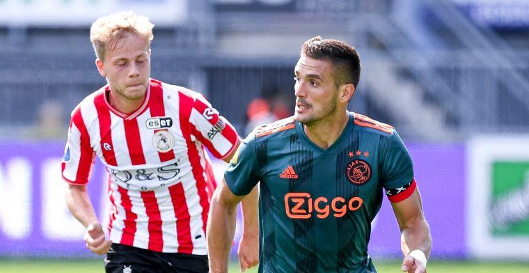 Primeur tijdens Sparta-Ajax voor PSV-huurling: Ik wil mezelf hier ontwikkelen