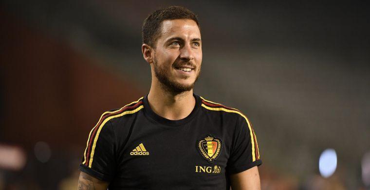 Real-fans blijven op hun honger zitten: Hazard ontbreekt opnieuw in selectie
