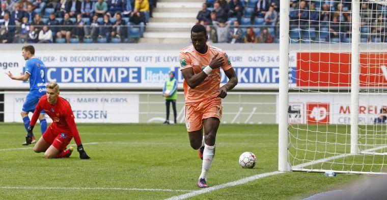'Anderlecht vist ook achter het net voor oude bekende Bolasie'