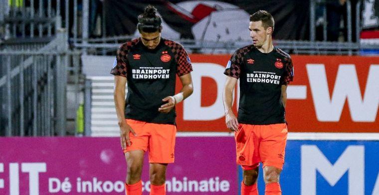 Van der Vaart en Janssen kritisch op 'slenterende' PSV'er: 'Hij doet maar wat'