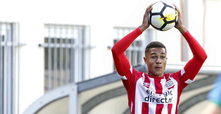 PSV meldt late transfer: vleugelverdediger op huurbasis naar België