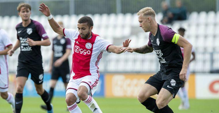 Hattrick Arweiler kost Ajax de zege in besloten oefenduel met FC Utrecht