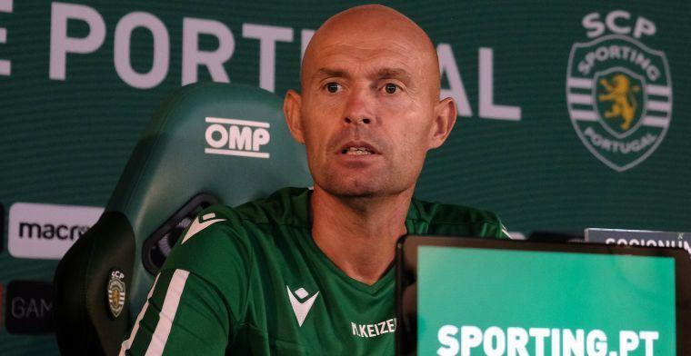 OFFICIEEL: Sporting ontslaat coach Keizer na tien maanden