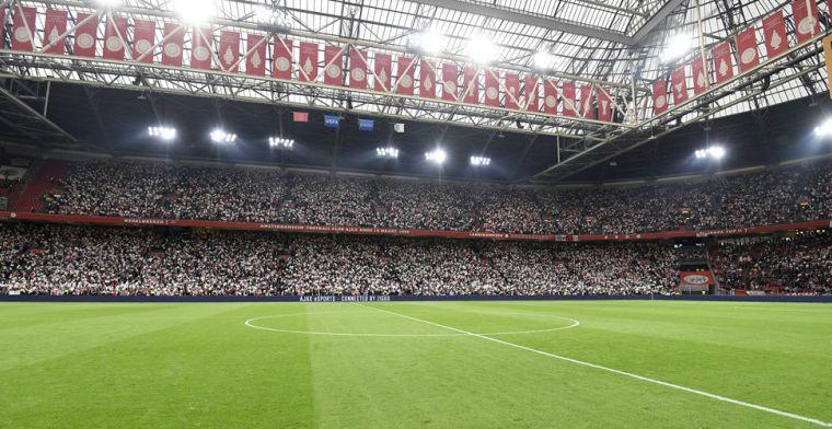 Ajax gaat alweer van grasmat wisselen: nieuw Arena-veld voldoet aan Ajax-eisen