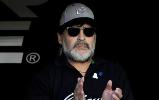 Update: Maradona neemt na acht wedstrijden alweer afscheid als trainer