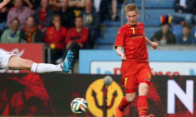 Afbeelding: De Bruyne gaat voor monsterscore met België: 'Voortduwen, ook al staat het 5-0'