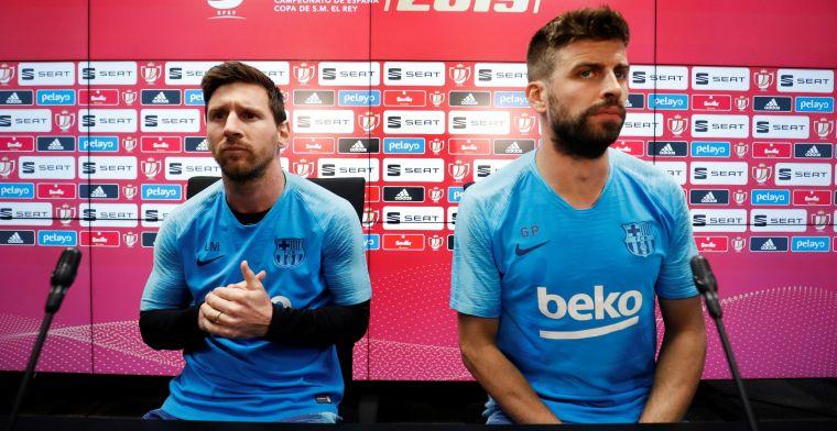 Piqué bevestigt veelbesproken clausule in megacontract Messi bij Barcelona