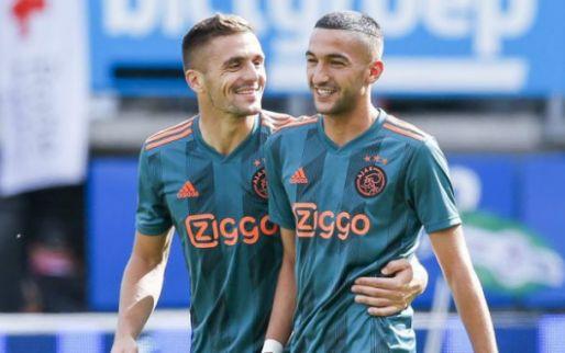 Afbeelding: Marokkaanse bondscoach is woest op achterban: 'Ziyech verdient dat niet'