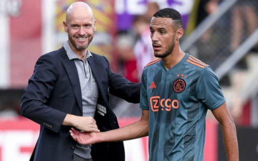 Afbeelding: Slecht nieuws uit Marokko voor Ajax: Mazraoui lijkt voorlopig buitenspel te staan