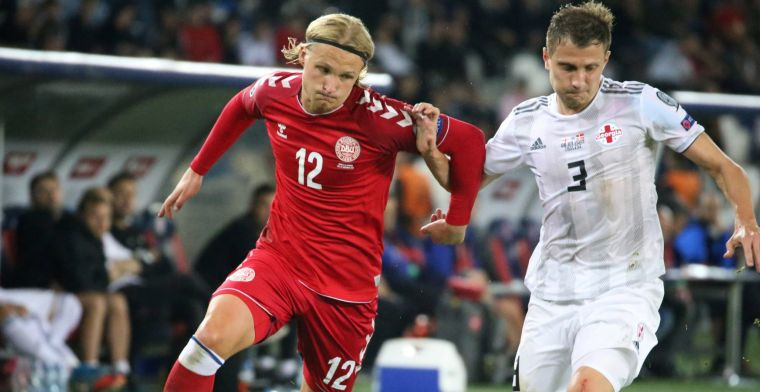 EK-kwalificatie: Denemarken verspeelt dure punten, cruciale assist Hagi