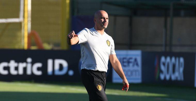 OPSTELLING: Martinez gooit zijn basisploeg om voor de match tegen Schotland