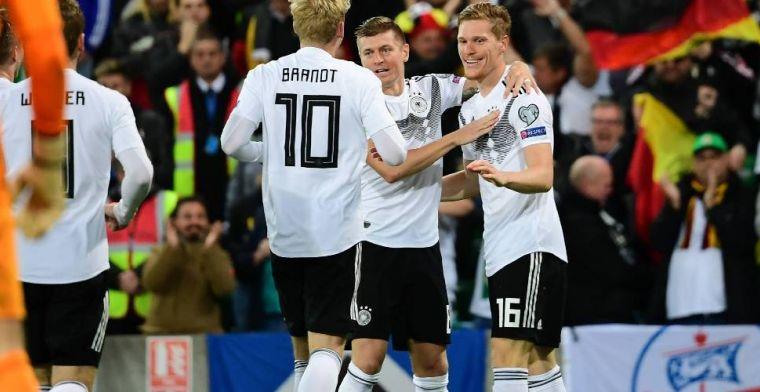 Duitsland heeft weer wat lucht na zege bij Noord-Ierland, De Bruyne steelt de show