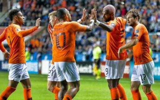 Afbeelding: 'De Jong breidde spel van Oranje moeiteloos aan elkaar, hoe klein de ruimte ook'