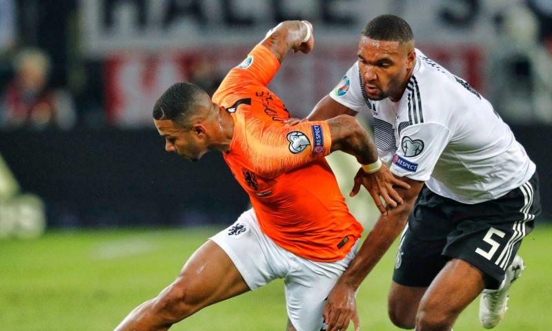 Afbeelding: Bosz verbaasd na Duitsland-Nederland: 'Er stonden nog tien anderen in het veld'