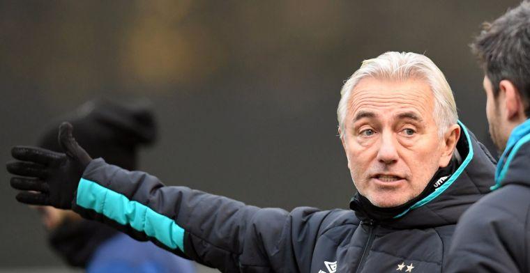Van Marwijk: 'Er zijn trainers die dat doen, maar ik ben er geen voorstander van'