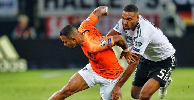 Bosz verbaasd na Duitsland-Nederland: 'Er stonden nog tien anderen in het veld'