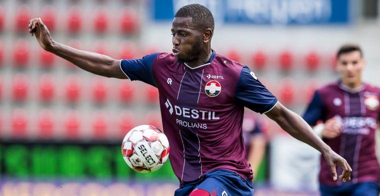 Transfer van Willem II-aanvaller ketst af: Ik laat mijn contract niet afkopen