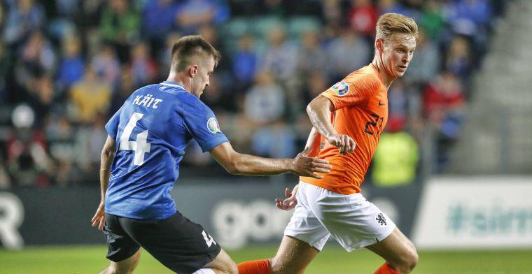 'Deze masterclass van Frenkie de Jong is oefenstof voor alle jonge voetballers'