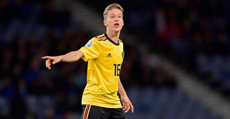 Anderlecht-talent Verschaeren reageert na debuut met Rode Duivels