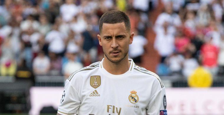 Competitiedebuut staat voor de deur, Hazard traint voluit bij Real Madrid