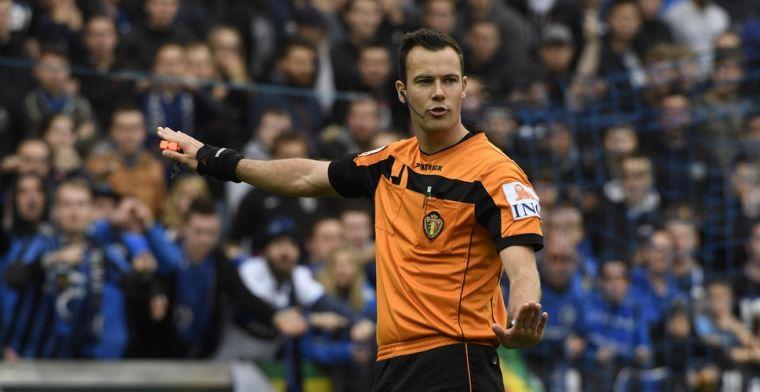 Club Brugge krijgt straf na gooien van bekers richting Van Driessche