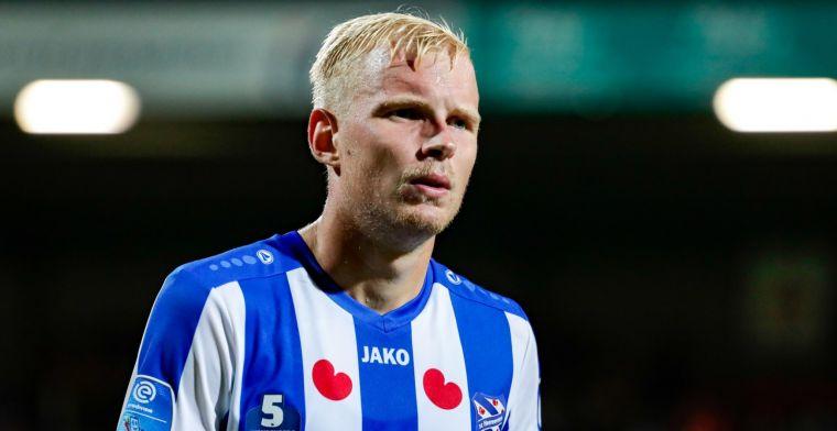 'Ik kon mijn contract ook níet verlengen en transfervrij weggaan bij Heerenveen'