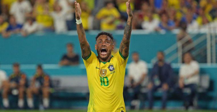 PSG en Leonardo willen Neymar in januari verkopen