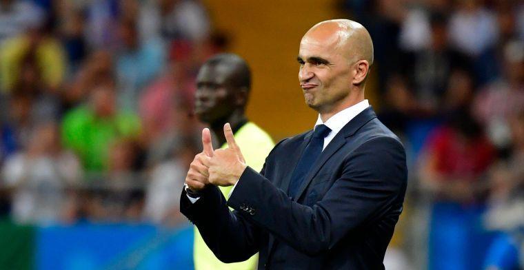 "Martinez tevreden over middenveld Rode Duivels: ""Beste spelmaker ter wereld"""