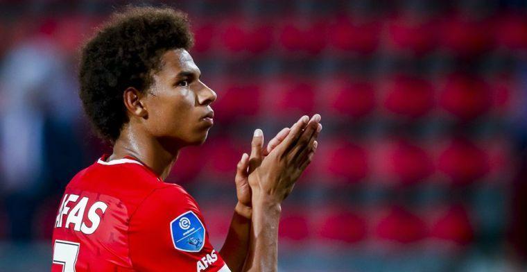 Malen en Kluivert als voorbeeld bij Jong Oranje: 'Zelf niet echt aan gedacht'