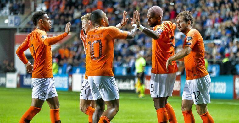 'De Jong breidde spel van Oranje moeiteloos aan elkaar, hoe klein de ruimte ook'