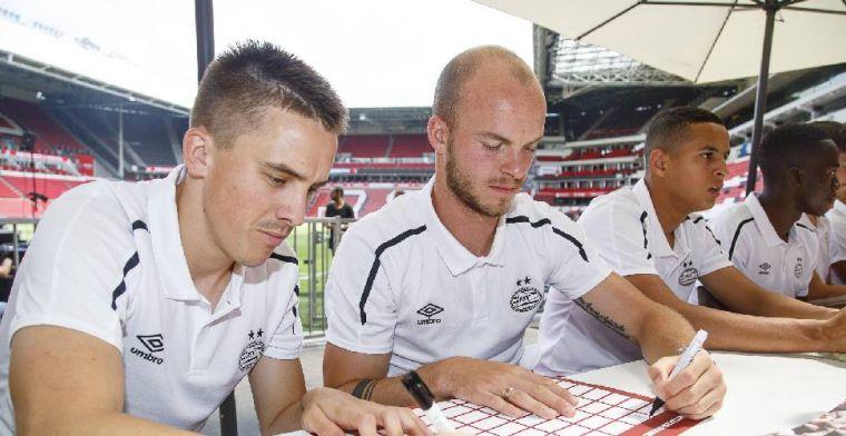 Zwaargeblesseerd na presentatie bij PSV: 'Dokter zei dat ik terug moest komen'