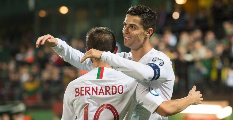 Nijhuis belandt in 'totale gekte': 'Ronaldo kwam naar me toe: die goal is van mij'
