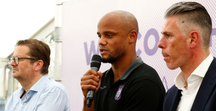 Kompany: Anderlecht is enorme club in klein land, de druk is anders dan bij City